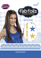 "Fab Foilz: Metallic Tattoos 4 X 8"" Envelope - Wild Child"