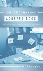 User ID / Password Address Book by Lori Cunningham
