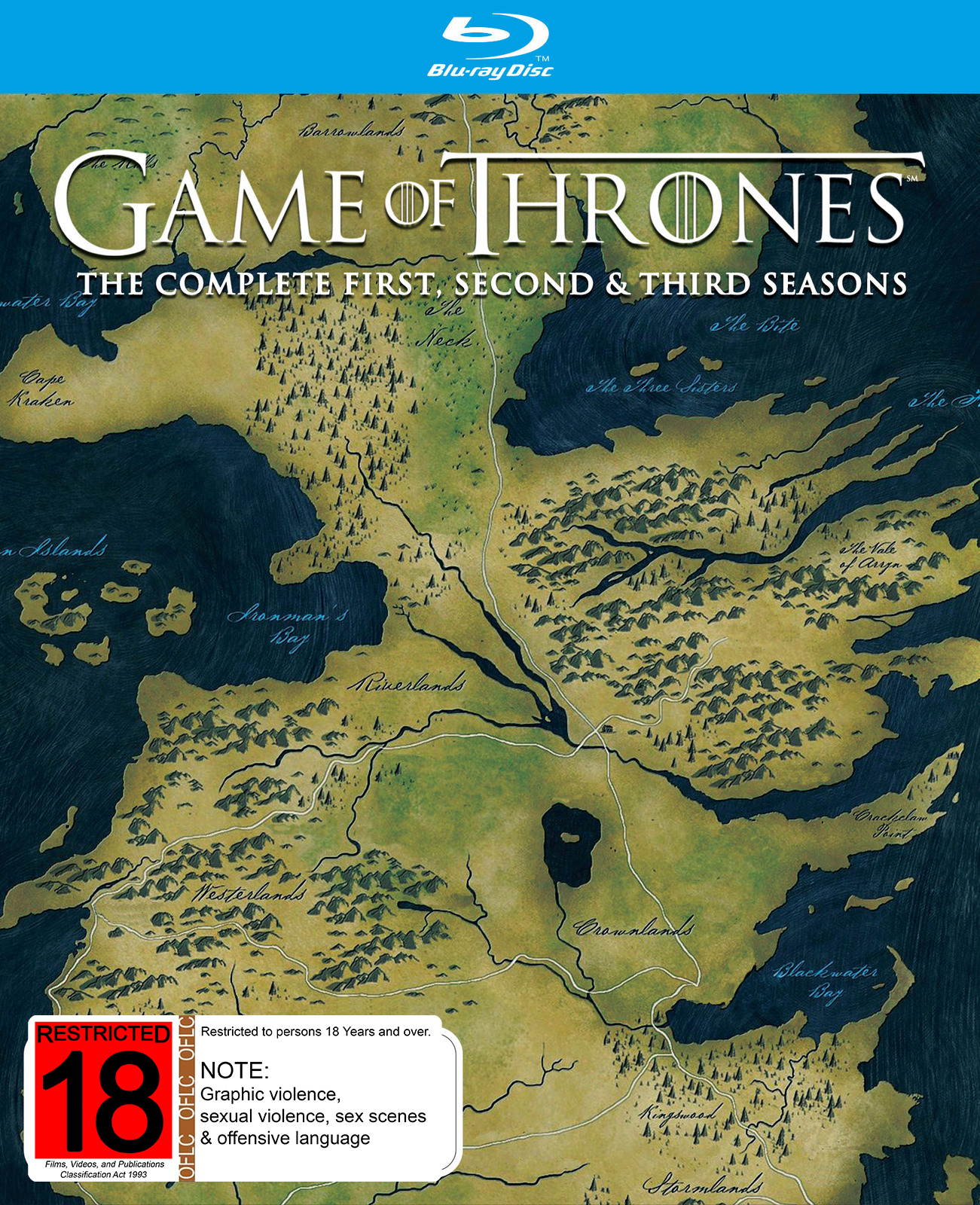 Game of Thrones - The Complete First, Second & Third Season (Vanilla Edition) on Blu-ray image