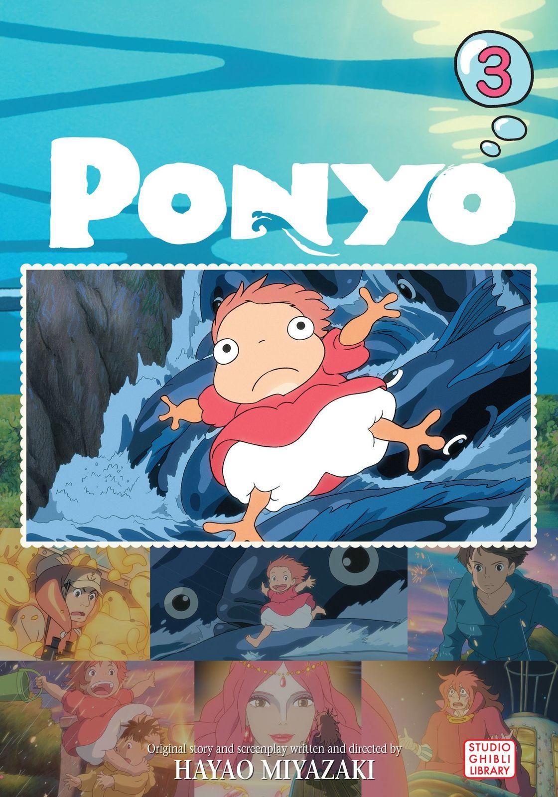 Ponyo Film Comic: v. 3 by Hayao Miyazaki image