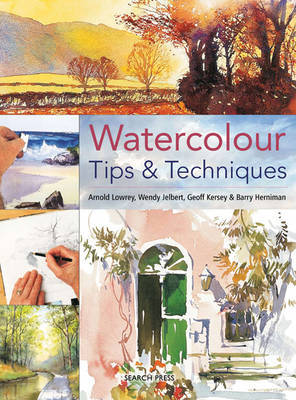 Watercolour Tips & Techniques by Wendy Jelbert image