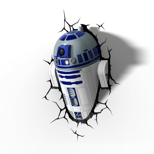 3D Deco Night Light - R2D2