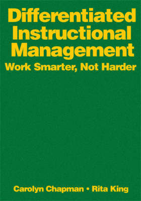 Differentiated Instructional Management by Carolyn M Chapman