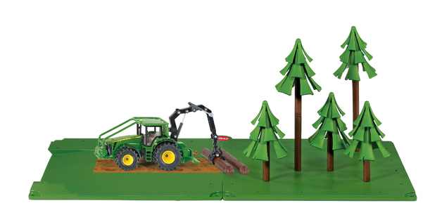 Siku: World Farm Forestry Set + John Deere