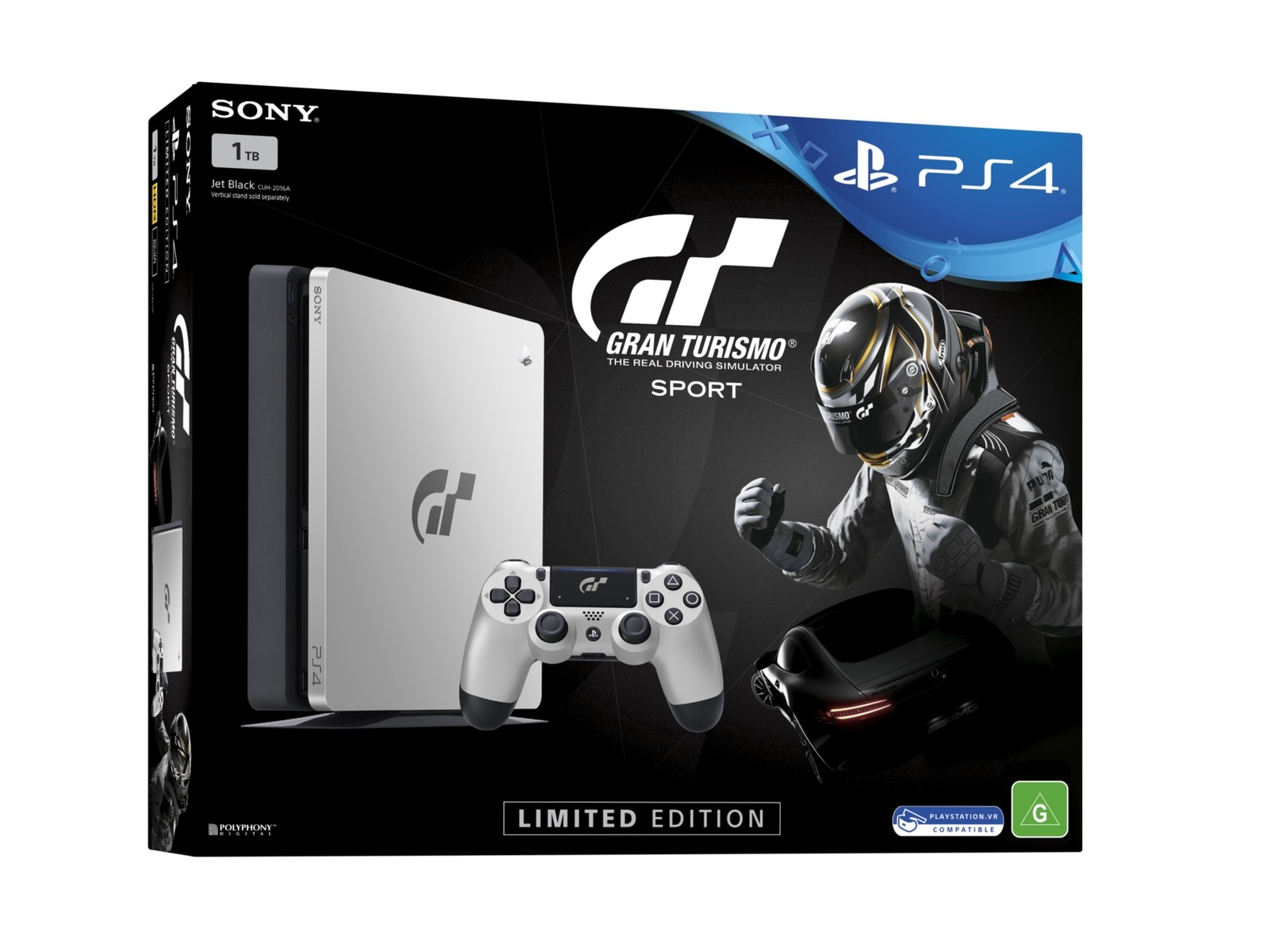 ps4 slim 1tb gran turismo sport limited edition bundle. Black Bedroom Furniture Sets. Home Design Ideas
