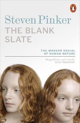 The Blank Slate by Steven Pinker image