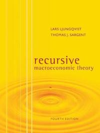 Recursive Macroeconomic Theory by Lars Ljungqvist