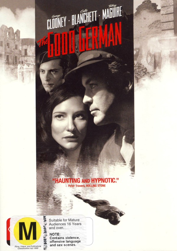 The Good German on DVD image