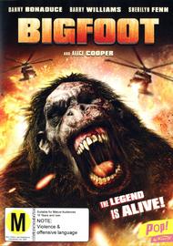 Bigfoot on DVD