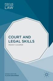Court and Legal Skills by Penny Cooper