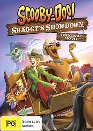 Scooby-Doo!: Shaggys Showdown on DVD