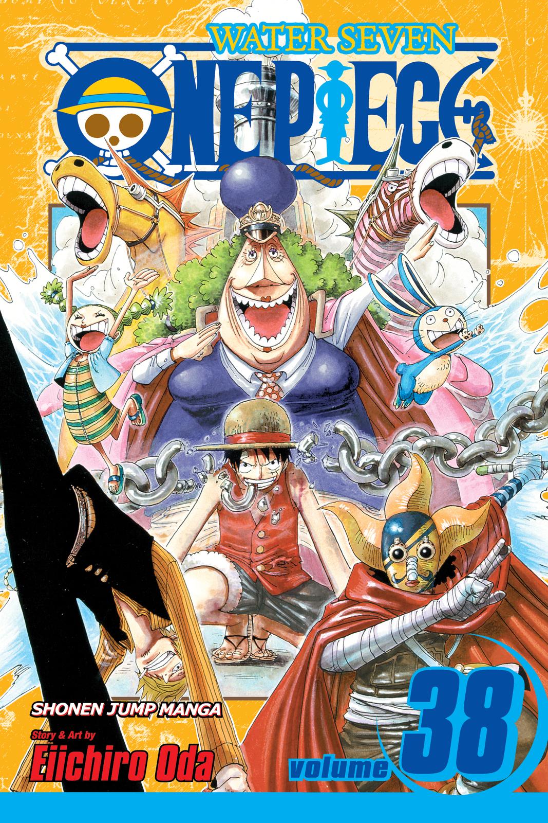 One Piece, Vol. 38 by Eiichiro Oda image