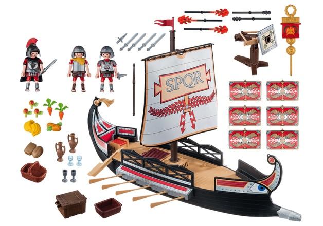 Playmobil: History - Roman Warriors' Ship
