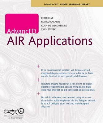 AdvancED AIR Applications by Marco Casario