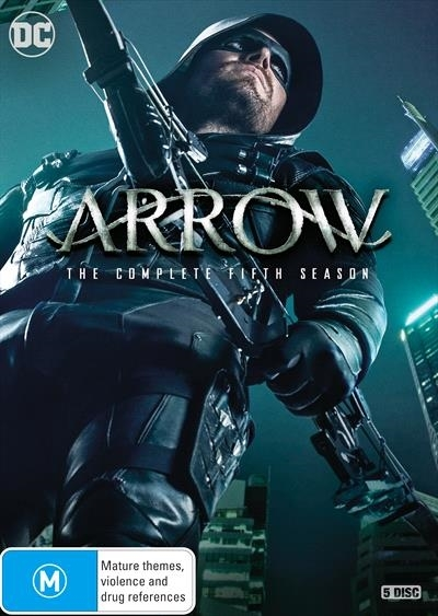 Arrow - Season 5 on DVD