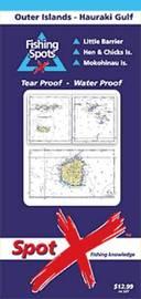 Spot X Outer Islands - Hauraki Gulf Chart: Fishing Spots by Spot X