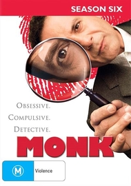Monk - Season Six on DVD