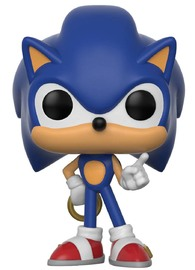 Sonic the Hedgehog - Sonic (with Ring) Pop! Vinyl Figure image