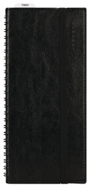 Milford: Platinum Wiro - Slim Journal (Black)