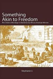 Something Akin to Freedom by Stephanie Li image