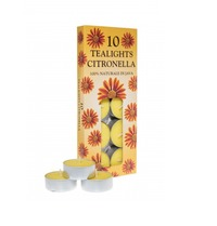 Citronella Tealights - 10 Pack image