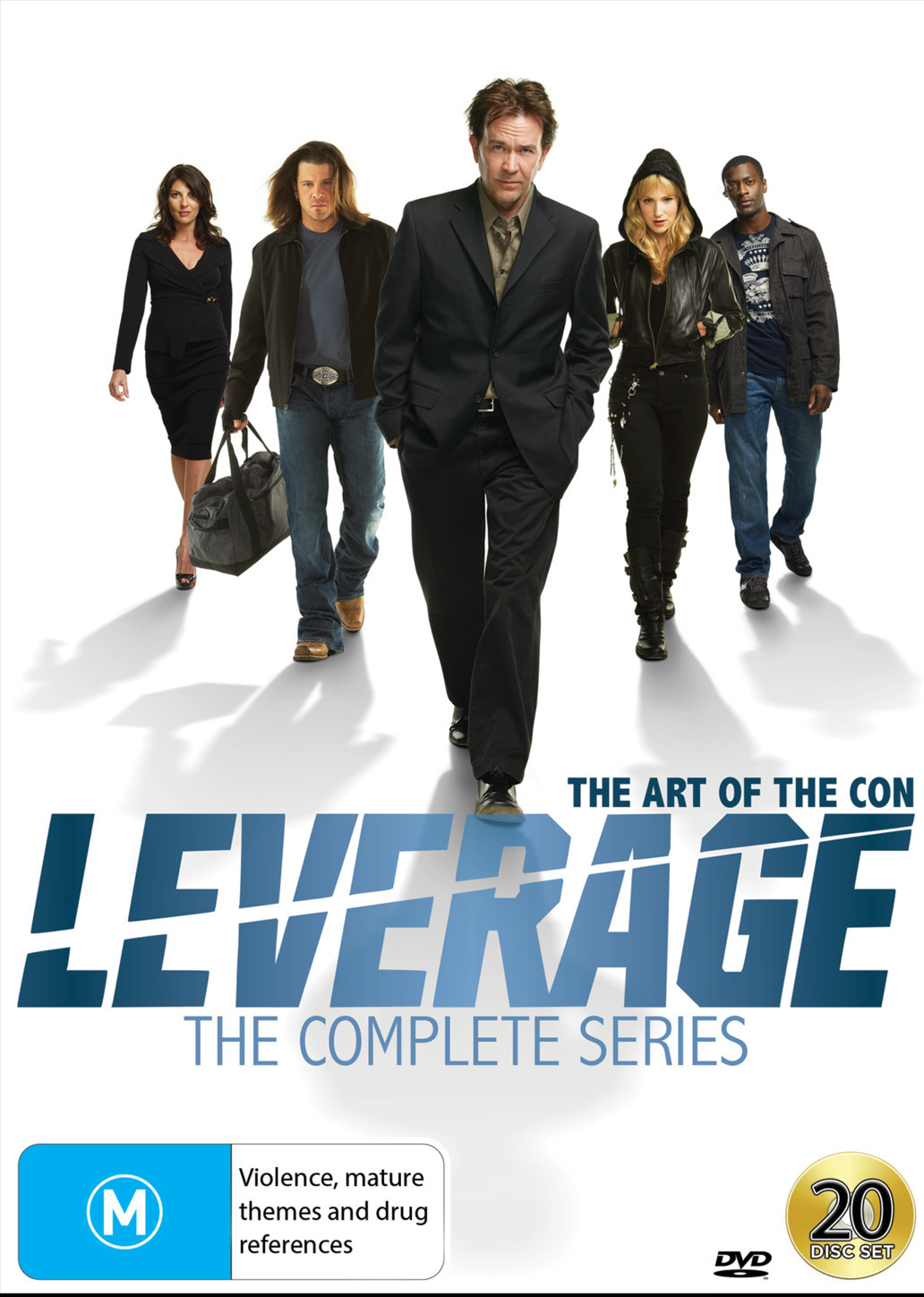 Leverage - The Complete Series on DVD image
