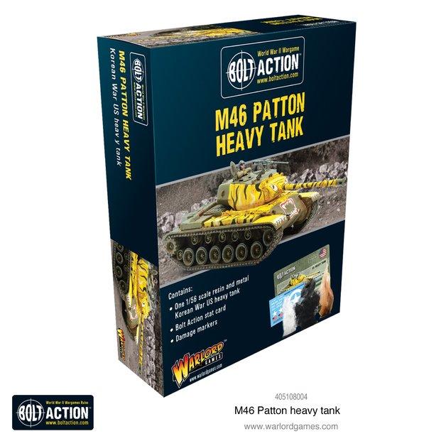 Bolt Action: M46 Patton heavy tank