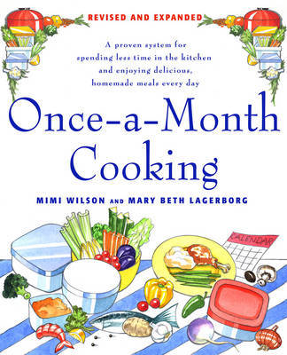 Once-a-Month Cooking by Mimi Wilson image