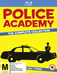 Police Academy The Complete Collection on Blu-ray image