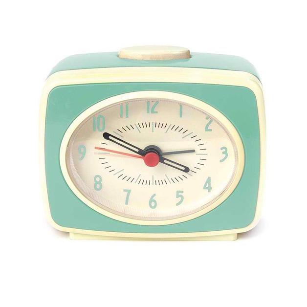 Small Classic Alarm Clock - Mint