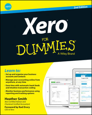 Xero for Dummies by Heather Smith image