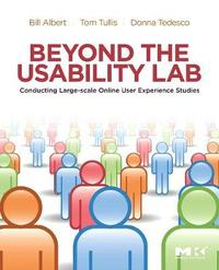 Beyond the Usability Lab by William Albert image