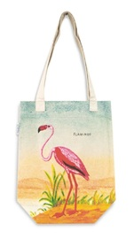 Cavallini & Co: Flamingo - Vintage Tote Bag