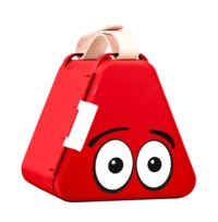 Teebee: Play & Store Toy Box - Red