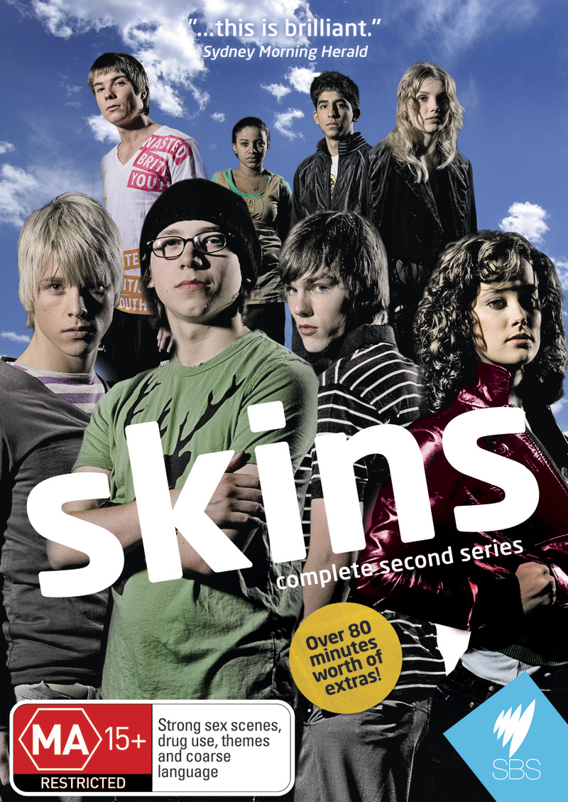Skins - Complete 2nd Series (3 Disc Set) on DVD image