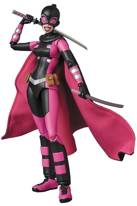 Marvel: Evil Gwenpool - MAFEX Action Figure