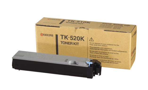 Kyocera TK520K Black Toner Kit for FSC5015N Printer