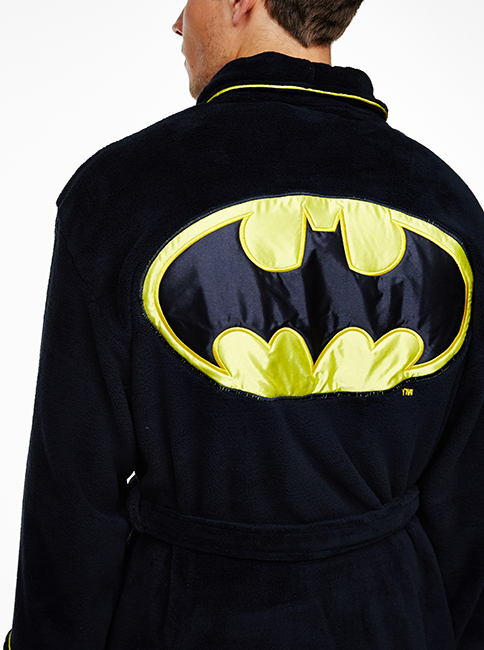 Batman Deluxe Towelling Bath Robe Images at Mighty Ape Australia 6463cb2ae