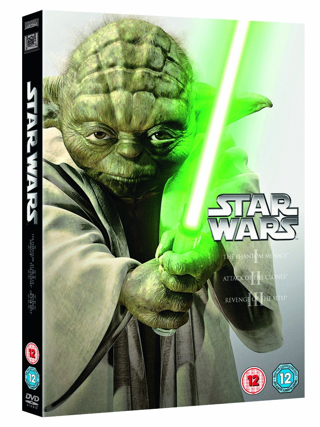 Star Wars I, II, III (Prequel Trilogy) on DVD image