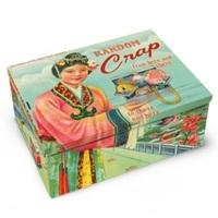 Blue Q Cigar Box - Random Crap