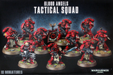 Warhammer 40,000 Blood Angels Tactical Squad (2014)
