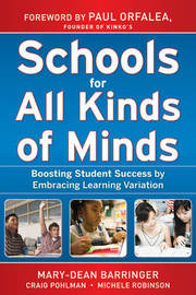 Schools for All Kinds of Minds by Mary-Dean Barringer image