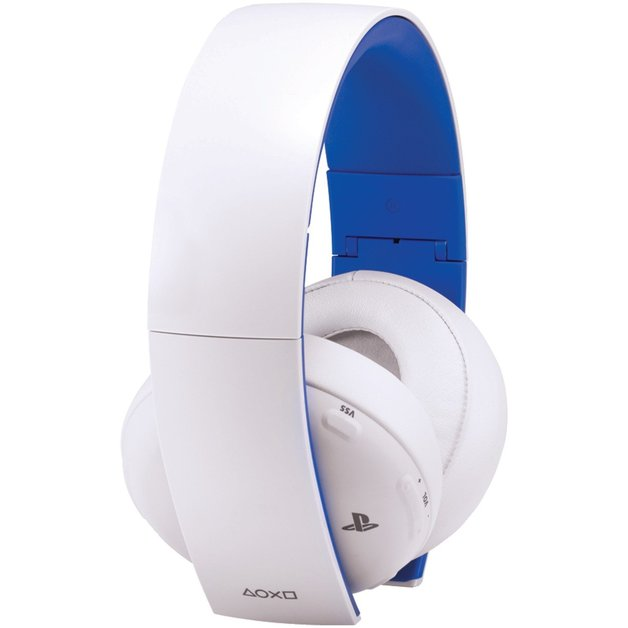 PlayStation Gold Wireless 7.1 Gaming Headset - White for PS4