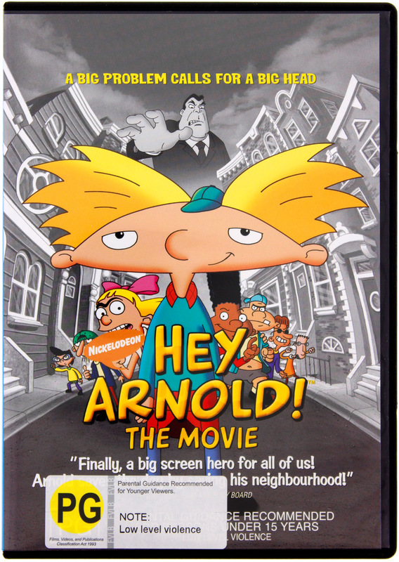 Hey Arnold! - The Movie on DVD