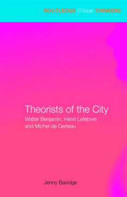 Theorists of the City by Jenny Bavidge image