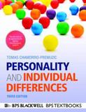 Personality and Individual Differences 3E by Tomas Chamorro-Premuzic