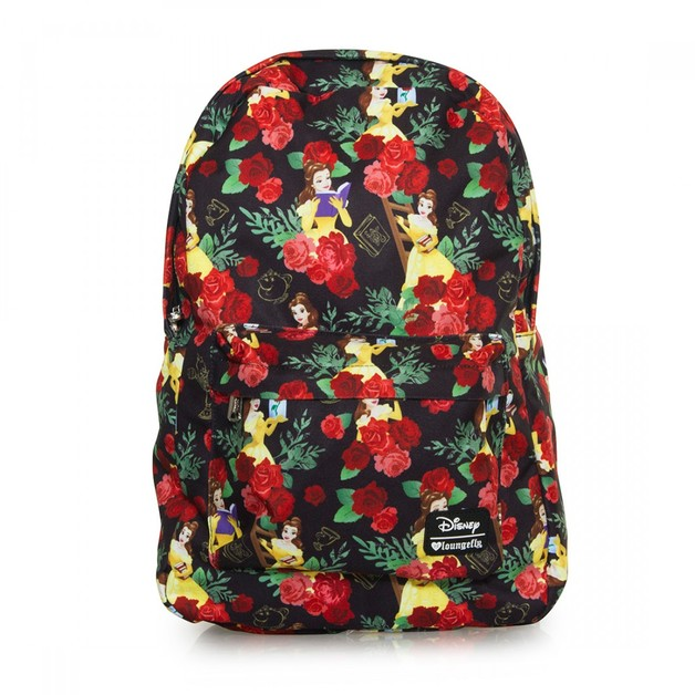 Loungefly Disney Beauty & The Beast Roses Backpack