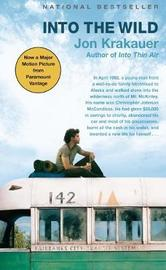 Into the Wild (movie tie-in cover) by Jon Krakauer