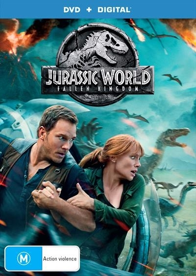 Jurassic World: Fallen Kingdom on DVD, DC