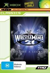 WWE Wrestlemania XXI (Classic) for Xbox